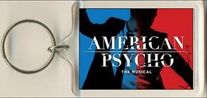 American Psycho The Musical Keyring  Bag Tag - kettering, Northamptonshire, United Kingdom - American Psycho The Musical Keyring  Bag Tag - kettering, Northamptonshire, United Kingdom