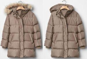 5559c67f2 NWT GAP Girls Warmest Down Long Puffer Jacket Size XL(12)