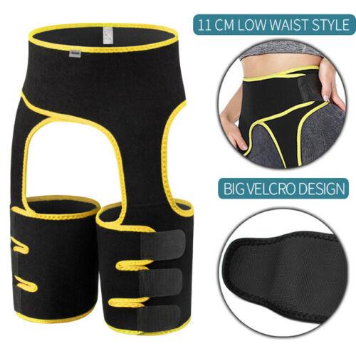 DE Fatburner Bein Abnehmen Oberschenkel Taille Trimmer Gürtel Mieder Body Shaper