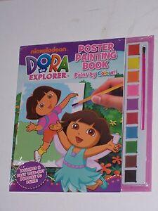 DORA THE EXPLORER POSTER PAINTING BOOK