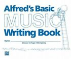 Alfred's Basic Music Writing Book: Wide Lines by Alfred Publishing Co., Inc. (Paperback / softback, 1986)