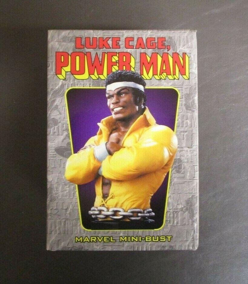 Power Man Luke Cage Mini Busto Bowen Designs Edición Limitada 5000 gv