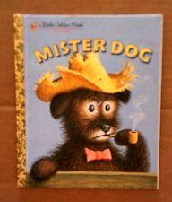 Little Golden Book: Mister Dog by Margaret Wise Brown (2003, Hardcover)
