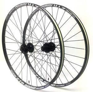 "Stan/'s Rapid 26"" Wheelset Shimano Deore 6-Bolt Disc QR Hubs Spokes 8,9,10,11 spd"