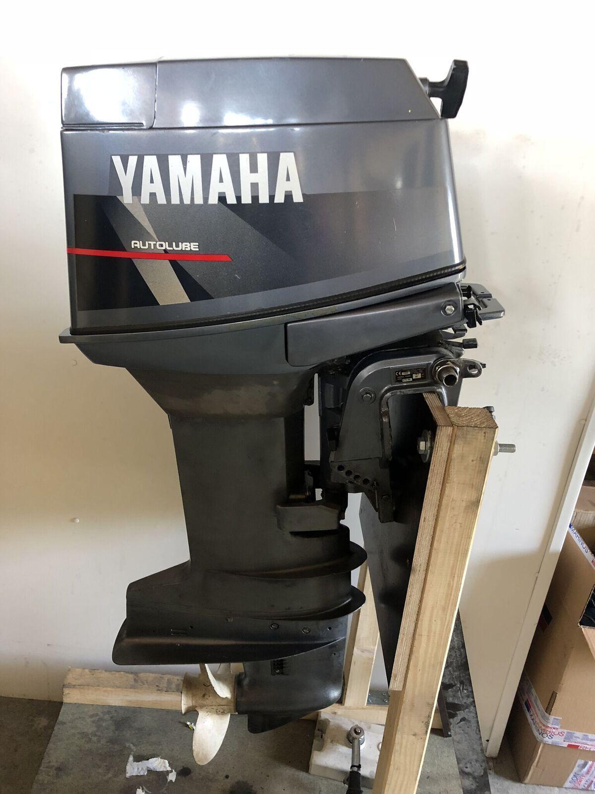 Aussenborder Langschaft Yamaha 25 PS 2 Takt Langschaft Aussenborder Handstart Schaltbox da871b