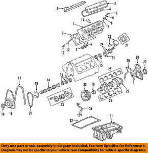 gm 12589016 seal camshaft engine camshaft seal ebay rh ebay com Chevy Cavalier 2.2L Engine Diagram Engine Camshaft Diagram with Lobes