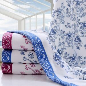 New-Women-Face-Towel-Comfort-Soft-Floral-Washcloth-Home-Absorbent-Hand-Cloth