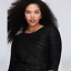 NEW-LANE-BRYANT-Metallic-Fitted-Sheath-silhouette-Dress-Plus-28-4X-Crinkled-NWT thumbnail 7