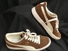 item 6 Puma Clyde Premium Sneakers Brown Suede Leather Men s Sz. 7.5 Women s  Sz.9.5 EUC -Puma Clyde Premium Sneakers Brown Suede Leather Men s Sz. 7.5  ... 3da5e4bf2