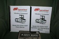Ingersoll Rand Dd70dd70hf Drum Roller Manual Set