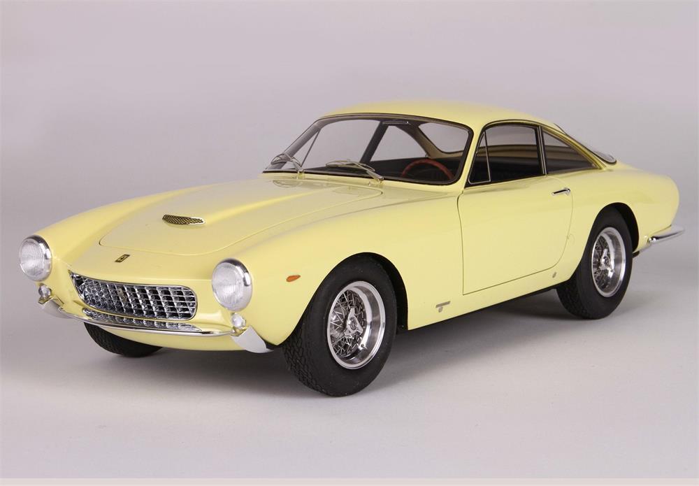 Ferrari 250 Gt Prototype Prototype Prototype S/N 3849 Paris Motor Show 1962 en 1:18 Echelle par Bbr | Forme élégante  | Caracteristique  c07e52