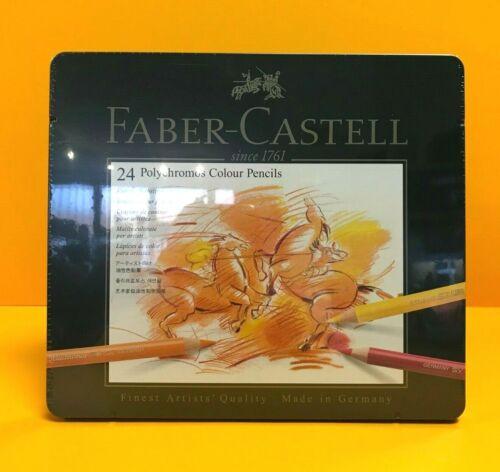 Faber Castell Polychromos Farbstifte 12 24 36 60 120 Set Metalletui NEU /& OVP