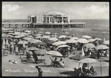 cartolina SENIGALLIA spiaggia e rotonda