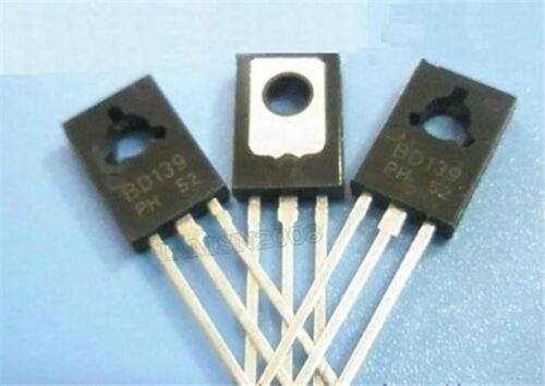 100 Stücke BD139 Npn Npn 1.5A 80V TO126 yn