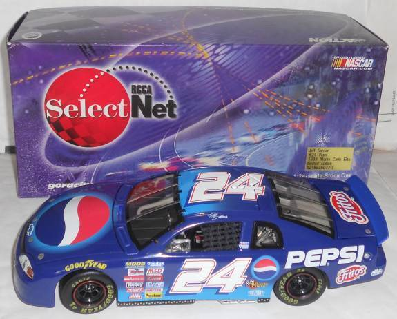 1999 JEFF GORDON  24 PEPSI 1 24 RCCA  SelectNet ELITE