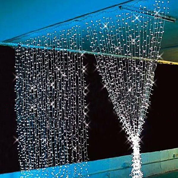3Mx3M 300*LED Outdoor/Indoor Christmas Wedding Party Fairy Lights Curtain Lights