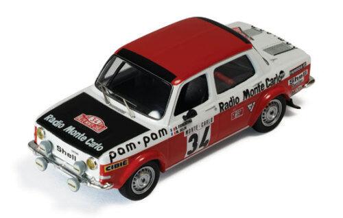 1 43 SIMCA 1000 RALLYE 2 Radio Monte Carlo Rallye Monte Carlo 1973 B. Fiorentino