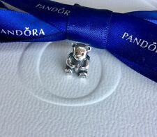 ed548ab09 PANDORA Teddy Bear Sterling Silver Charm 790395 Retired TRACKED ...
