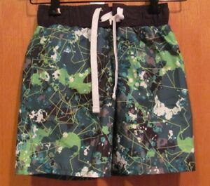8d601d8a14 Green Patterned SWIM SHORTS~ Boys~Size SMALL (6-7)~ NEW w/tags~Joe ...