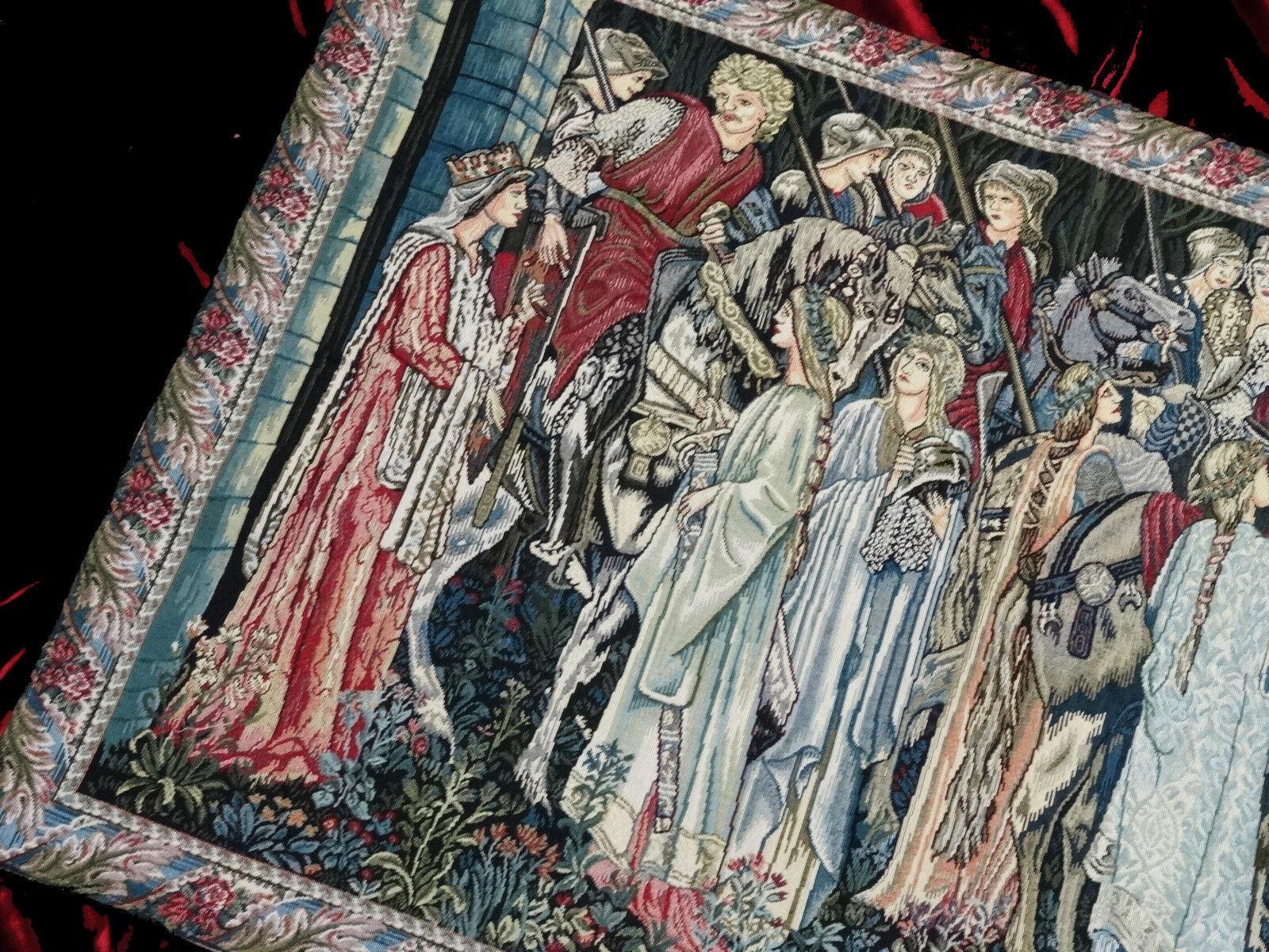 Tapisserie de 95x68 Italy Tapis Warrior Corteo arazzo Tapisserie croisés 95x68 de aaa092