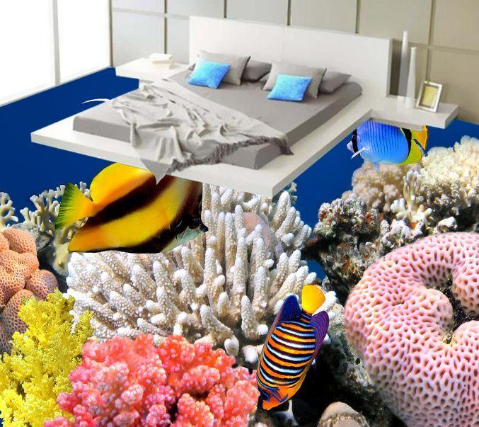 3D Aquatic Organisms 013 Floor WallPaper Murals Wall Print Decal 5D AJ WALLPAPER
