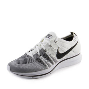 Image is loading Mens-Flyknit-Trainer-White-Black-AH8396-100-The- 420ce2bb0