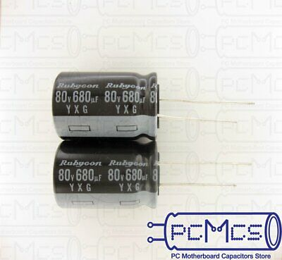 8 Rubycon YXG series 25V 220UF 105 Japan High ripple current Long Life Capacitor