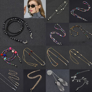 Metal-Strap-Bead-Chain-Glasses-Spectacles-Sunglasses-Glasses-Holder-For-Reading