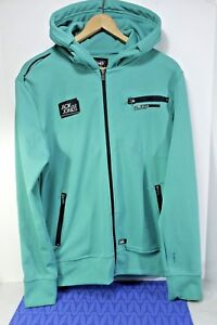 preview of later sale Details about JACK JONES Strength 75 Hoodie TRACK JACKET Womens L CORE  Jeans Intelligence MINT