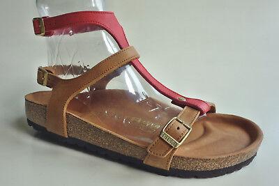 new TATAMI BIRKENSTOCK Leather Sandals VARNA EXQ Rust Red US6.5 7 EU37(38) UK4.5 | eBay