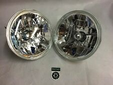 "Bearmach Land Rover Defender 7"" Crystal Clear H4 Halogen Headlight Kit BA070C"