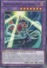 3X YU-GI-OH CARD: LUNALIGHT CAT DANCER - RARE - SHVI-EN046