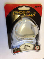 Phoenix Gold Arx.368mini Mini Adaptor, 3.5mm Mini To 2 Female 3.5