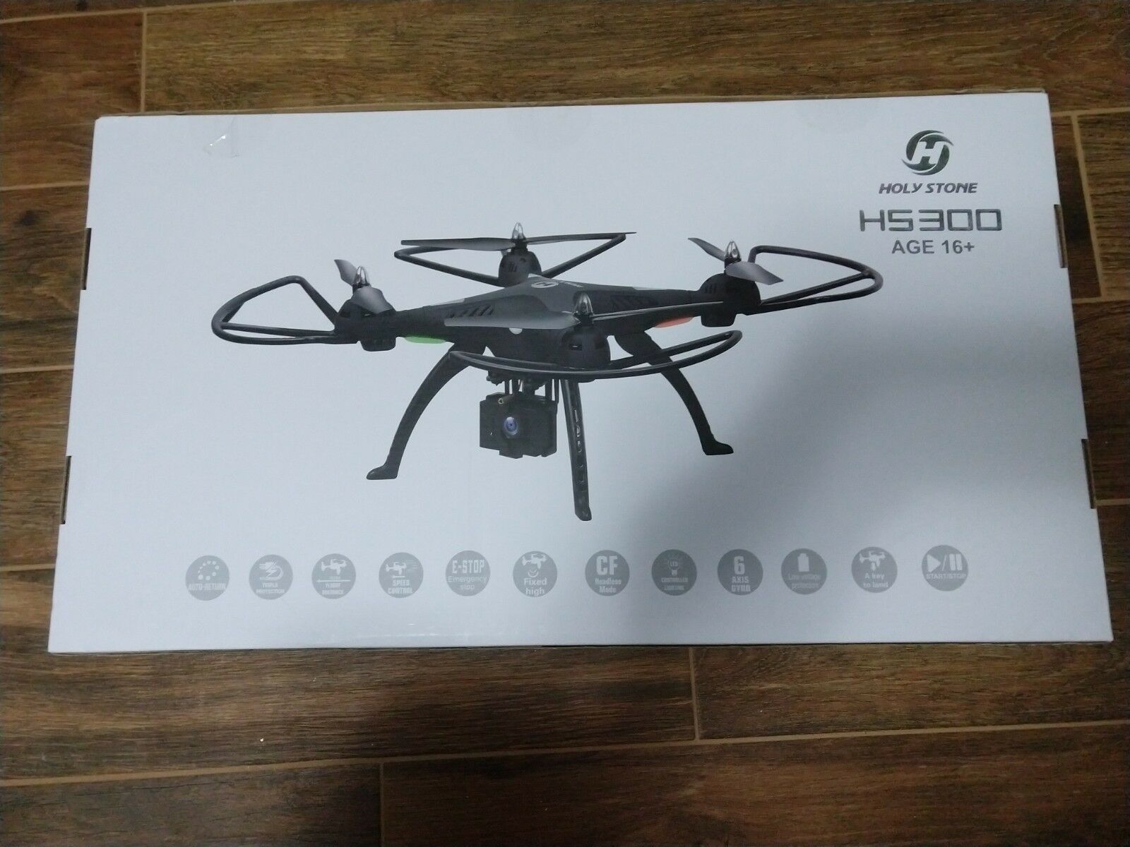 1080 camera Drone , Holy Stone HS300 Quad copter with 120 wide angle HD camera