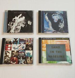 Lot-Of-4-Alternative-Rock-CDs-U2-Hole-Talk-Heads-Siouxsie-amp-Banshee-TESTED