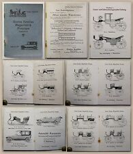 Katalog Album Gustav Kesslau Wagenfabrik Potsdam um 1900 Kutschen Automobile xz