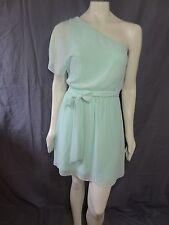 Express One Shoulder flutter sleeve chifon Dress size XS