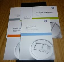 volkswagen cc owners manual includes rns rns 315 navigation system rh ebay co uk User Manual PDF Operators Manual