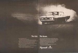1969-PLYMOUTH-BARRACUDA-CUDA-340-NICE-ORIGINAL-2-PAGE-PRINT-AD