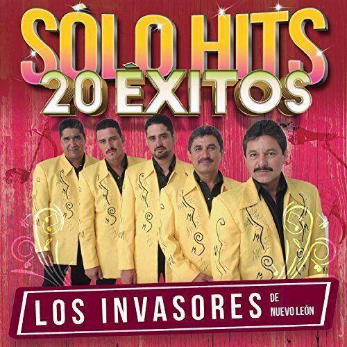 INVASORES DE NUEVO LEON-SOLO HITS 20 EXITOS CD NEUF