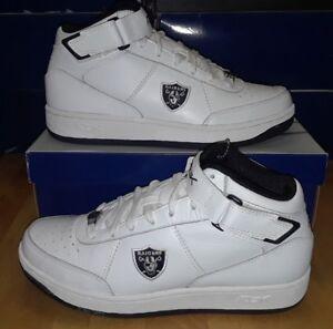 6aae55471b7 Rare   never worn Reebok Shoes NFL Oakland Raiders 2-166180 Mens ...
