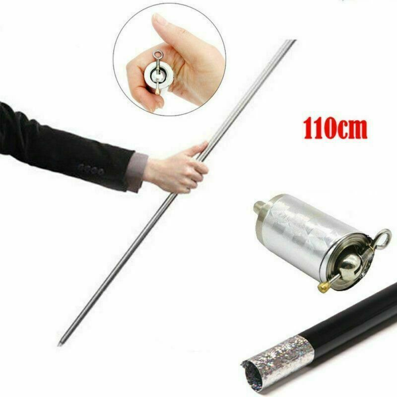 Martial Arts Bo Staff Self Defense Stick Portable Metal Magic Pocket Telesco @fy