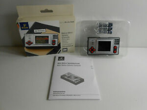 Retro-Mini-Spielekonsole von Tchibo mit 153 Spielen in OVP