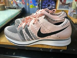 a2603a5246d3 Nike Flyknit Trainer Sunset Tint Black-White Pink Size US 13 Men ...