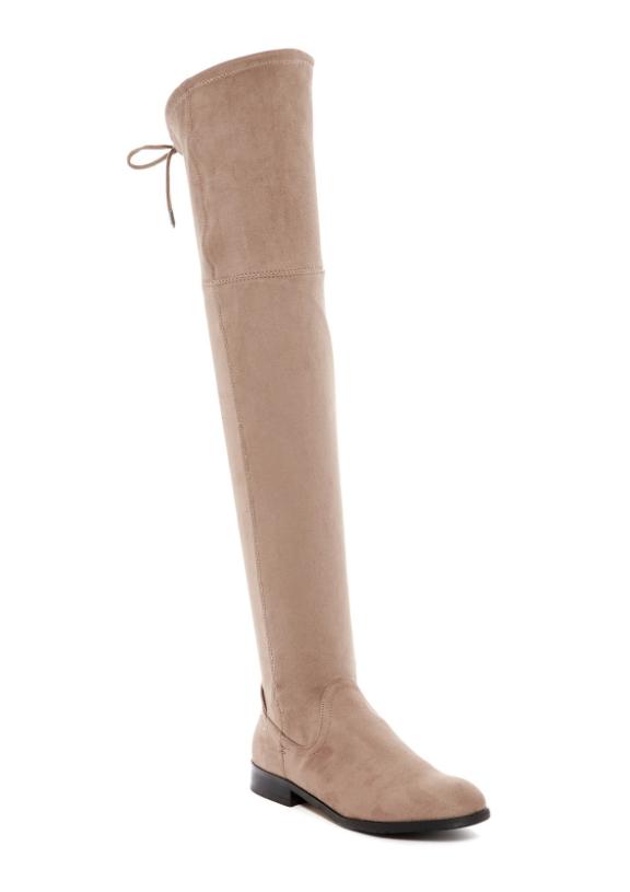 scelte con prezzo basso Dolce Vita Neely Donna  Taupe Microsuede Over Over Over The Knee avvio Sz 9M 2105  conveniente