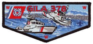 Yucca-Council-Military-Coast-Guard-Gila-Lodge-378-OA-Uniform-Flap-Patch-Badge