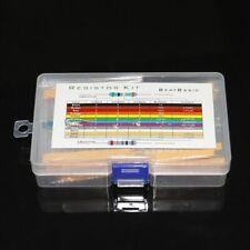 525pcs Set 17 Values 0 1m Ohm 14w Common Metal Film Resistors Assortment Kit