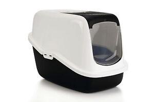 katzentoilette nestor alle farben katzenklo mit haube aufklappen schnellversand ebay. Black Bedroom Furniture Sets. Home Design Ideas