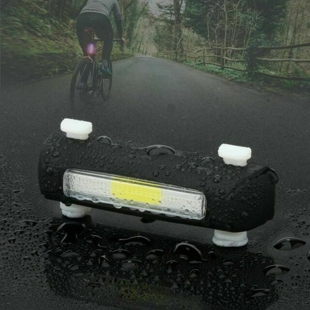 7 Mode ThorFire LED Bright Bicycle Rear Tail Light Safety Warning Flashlight