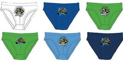 Unterwäsche 3er Set Ninja Turtles Geschenk Unterhosen Disney Junge Kinder Duftendes Aroma